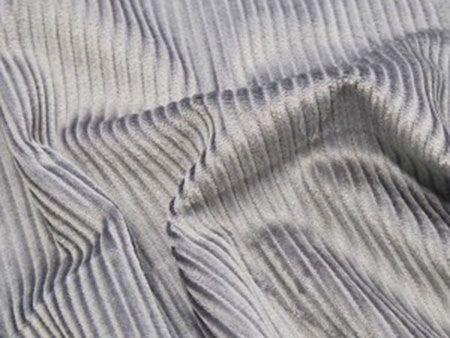 Cotton Corduroy - 5 Wale, Grey