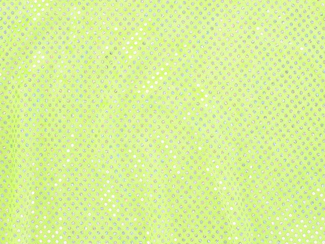 Hologram Sequin Velour - Yellow