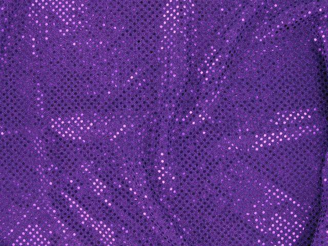 Hologram Sequin on US Knit - Regal Purple