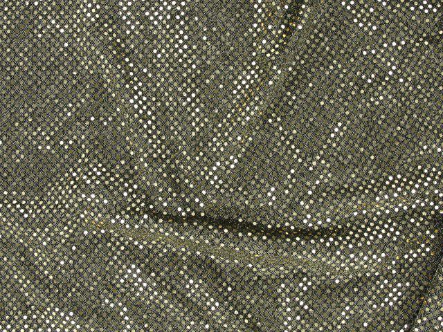 Hologram Sequin on US Knit - Grey Green