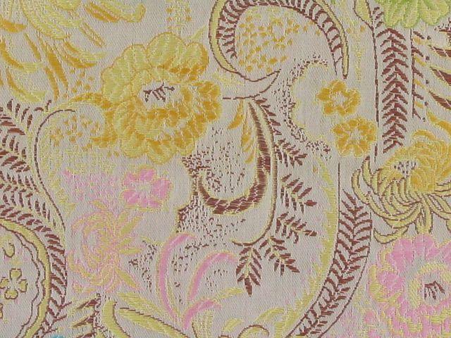Polyester Jacquard, Shanghai Garden - Gold