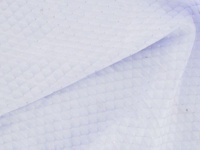 Brocade Squares - Lilac with Silver