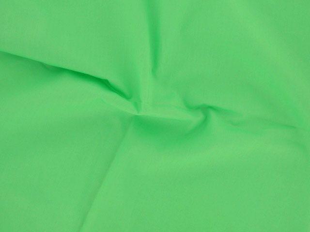 Plain Polycotton Fabric - Lime