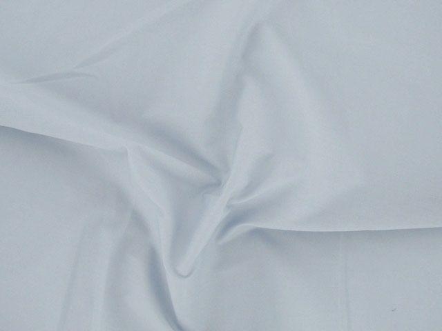Plain Polycotton Fabric - Light Grey