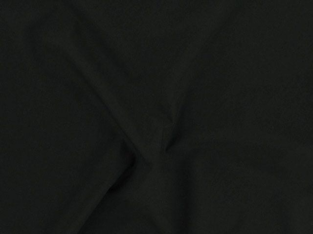 Plain Polycotton Fabric - Black