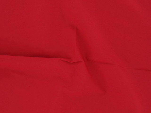 Plain Polycotton Fabric - Red