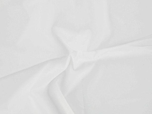 Plain Polycotton Fabric - Ivory