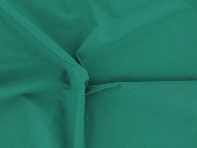 Plain Polycotton Fabric - Seaweed