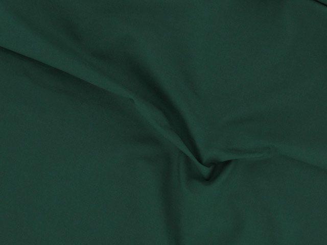 Plain Polycotton Fabric - Bottle Green