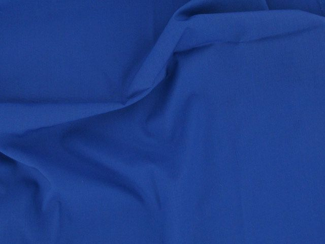 Plain Polycotton Fabric - Royal