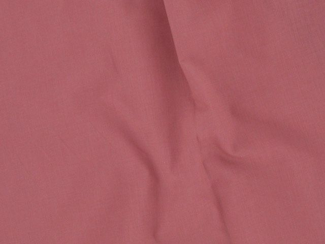 Plain Polycotton Fabric - Dusky Pink