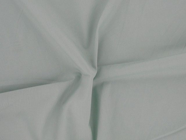 Plain Polycotton Fabric - Duckegg