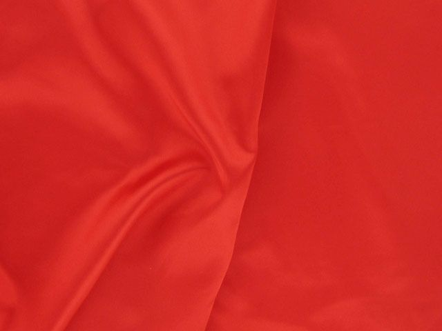 Polyester Satin - Red