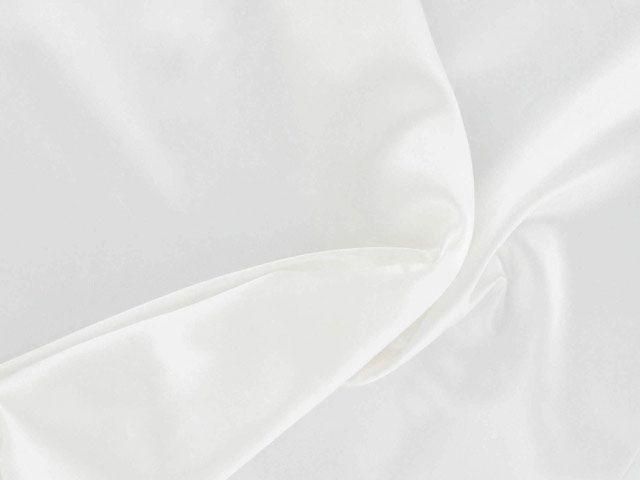 Polyester Satin - Ivory