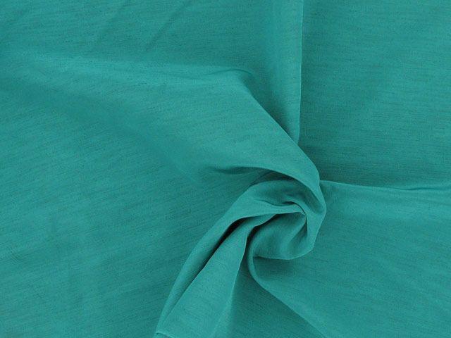 Nep Shantung - Aqua Green