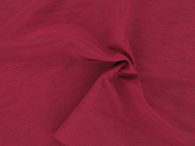 Nep Shantung - Scarlet