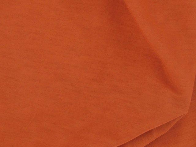 Nep Shantung - Burnt Orange