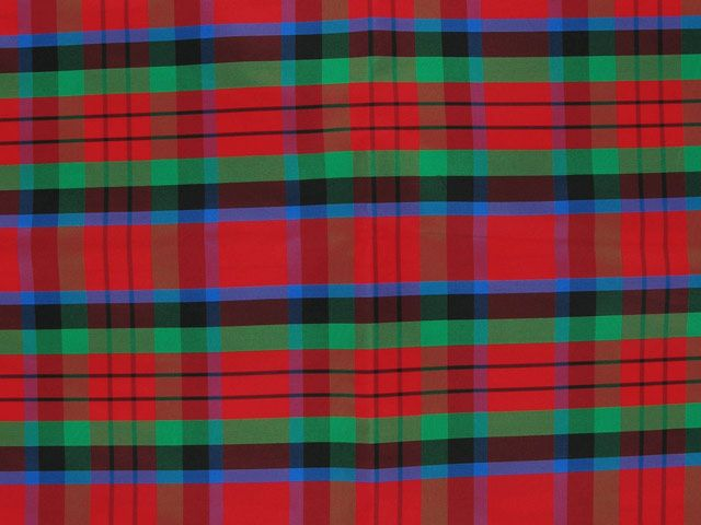 Taffeta Kilt Stripe - Red