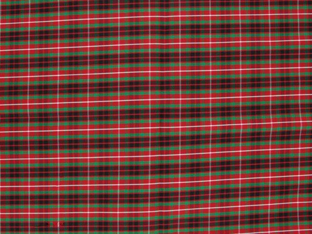 Taffeta Kilt Stripe - Dark Red