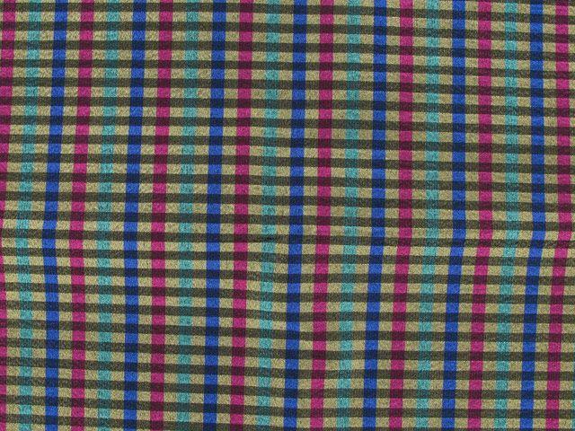 Shiny Metallic Striped Taffeta - Purple
