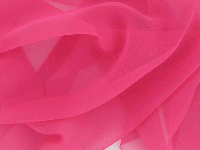 Chiffon 50 Denier - Bright Pink