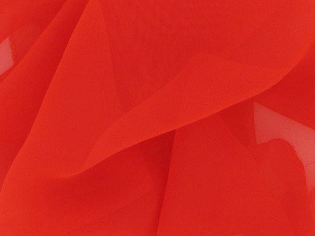 Chiffon 50 Denier - Red