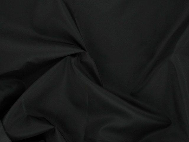 Polyester Taffeta - Black