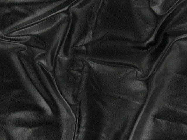 PU Coated Interlock - Black