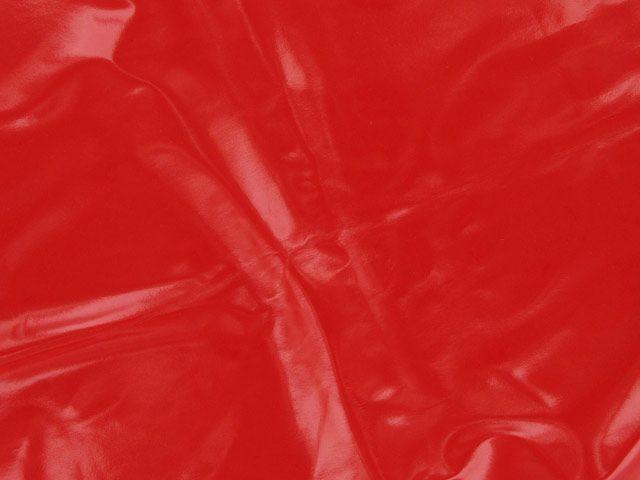 PU Coated Interlock - Red