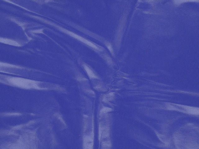 PU Coated Interlock - Blue