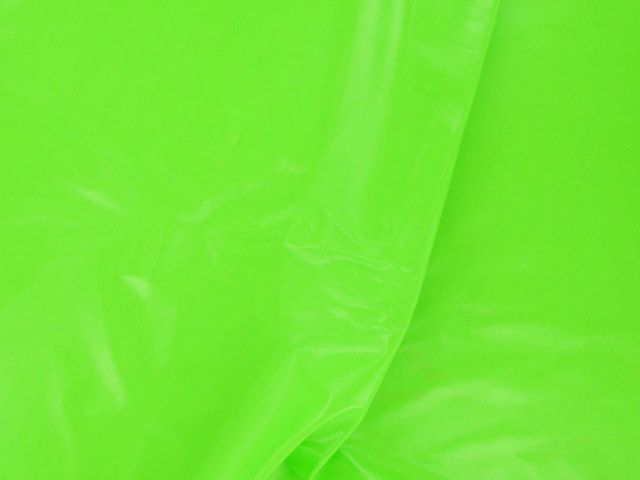 PU Coated Interlock - Bright Green