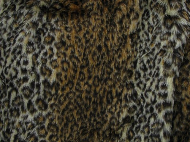 Leopard Short Pile Fur - Leopard 2