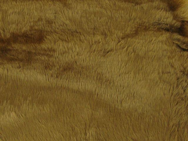 Short Pile Fur Fabric - Antelope