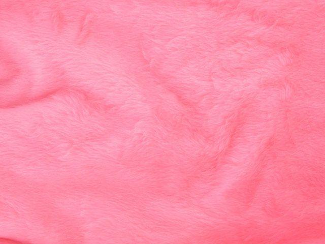 Short Pile Fur Fabric - Blush