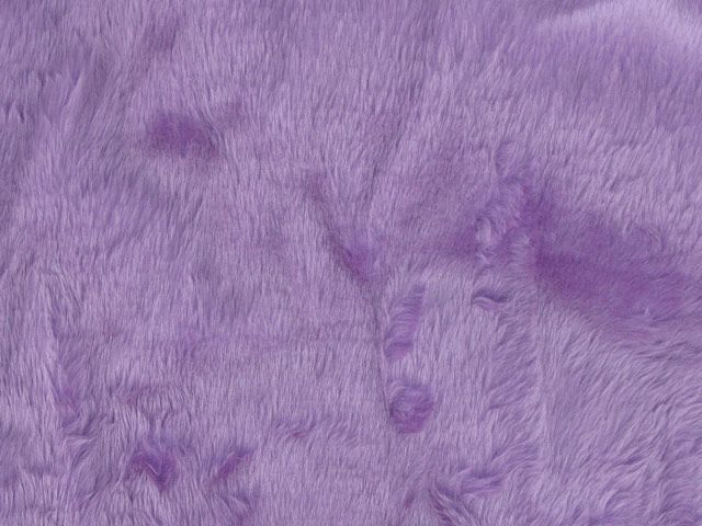 Short Pile Fur Fabric - Helitrope