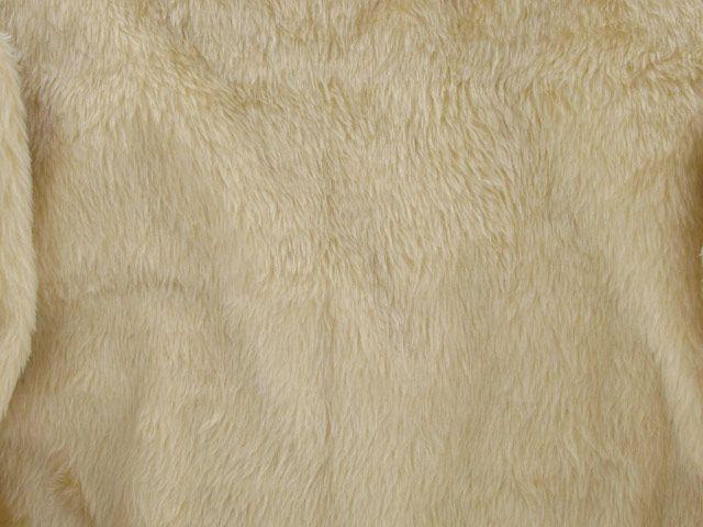 Short Pile Fur Fabric - Oatmeal