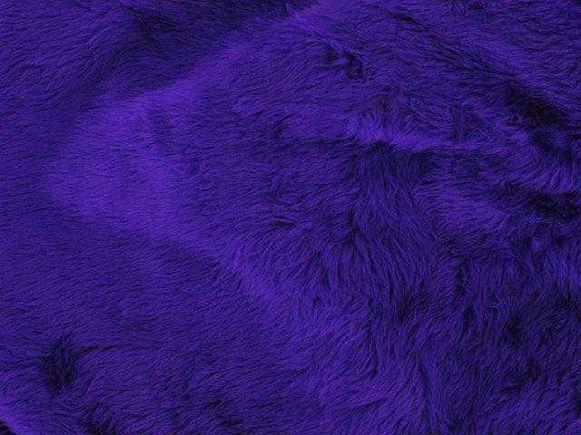 Short Pile Fur Fabric - Purple