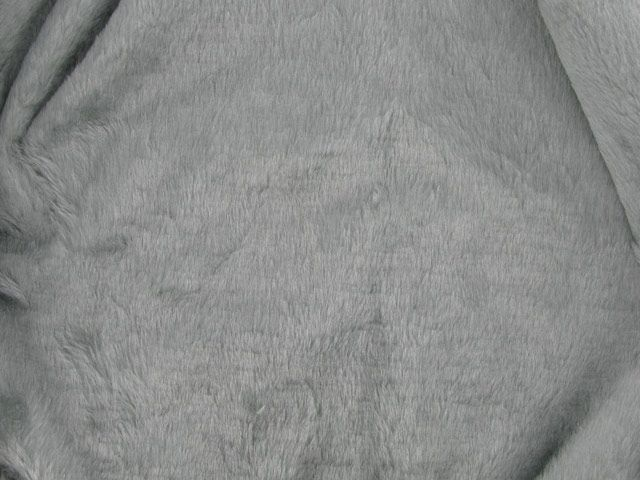 Short Pile Fur Fabric - Fox
