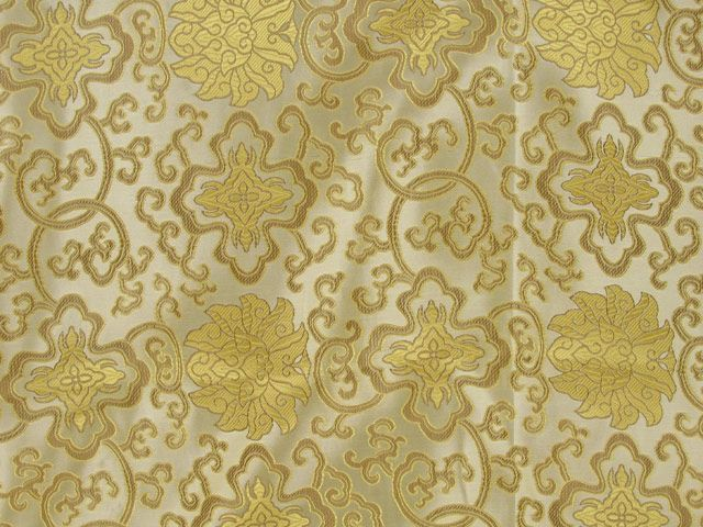 Chinese Rose Jacquard - Gold