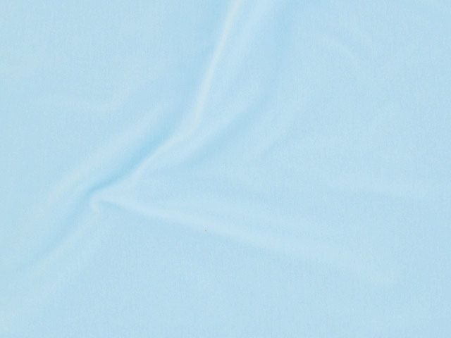 Cotton Jersey with Elastane - Sky Blue