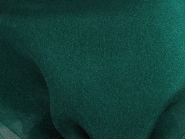 Crystal Organza - Bottle Green