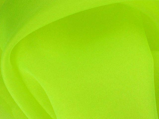 Crystal Organza - Lime