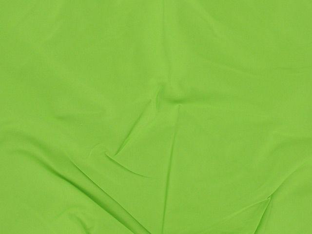 Stretch Cotton Sateen -  Green