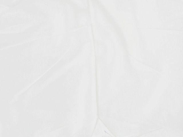 Stretch Cotton Sateen - White