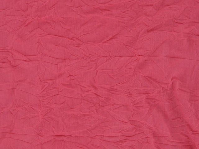 Crinkled Viscose - Salmon