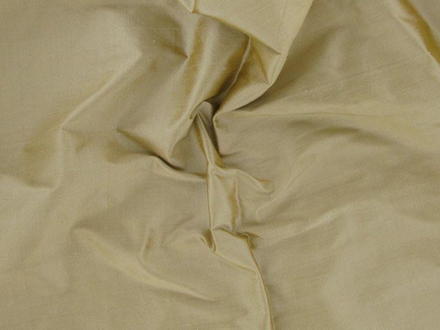 Fashion Silk Dupion - Old Gold