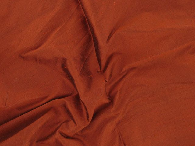 Fashion Silk Dupion - Rust