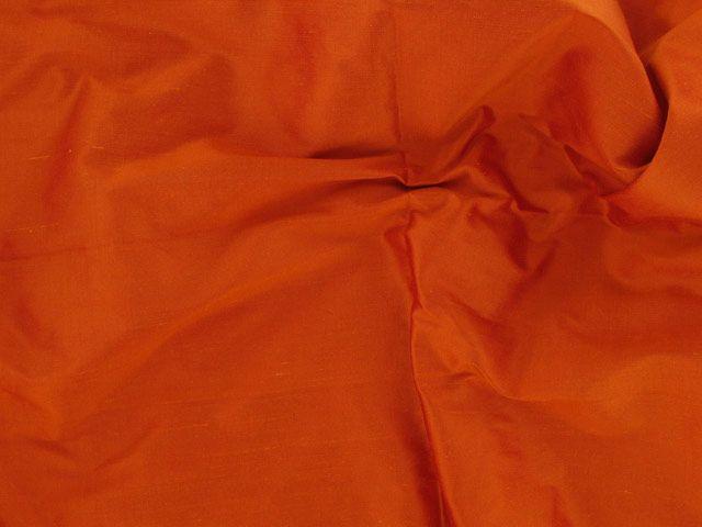 Fashion Silk Dupion - Flame