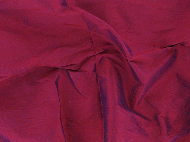 Fashion Silk Dupion - Deep Scarlet