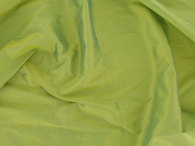 Fashion Silk Dupion - Lemon Green